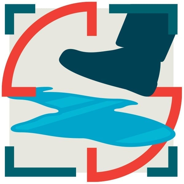 Slip and fall detection