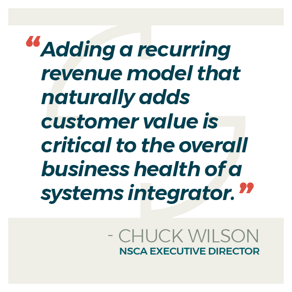 Quote from NSCA Executive Director Chuck Wilson